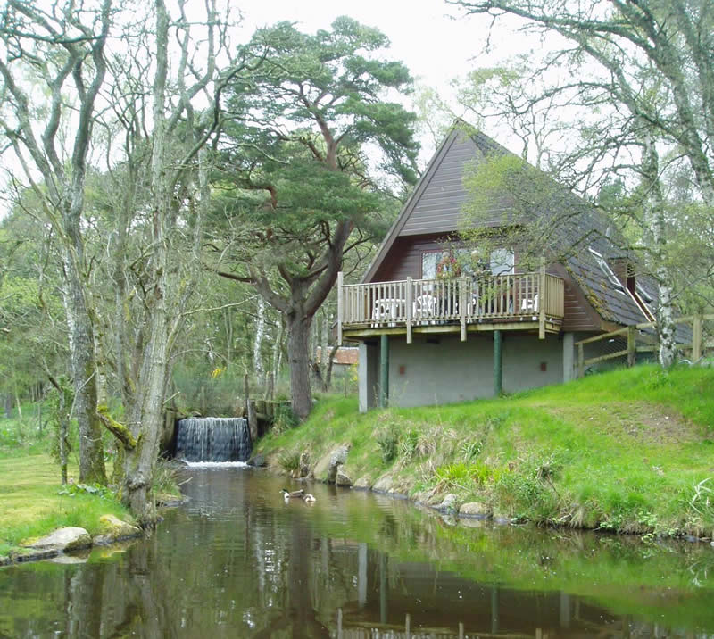 Ranch Chalet Park: Central In The Highlands Of Scotland